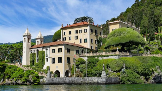 Real estate on Lake Como
